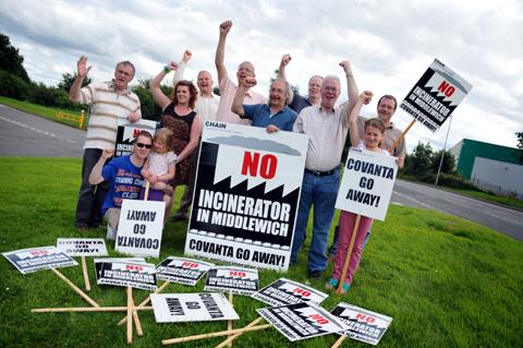 FULL STORY: People power wins as Middlewich incinerator plans go up in smoke
