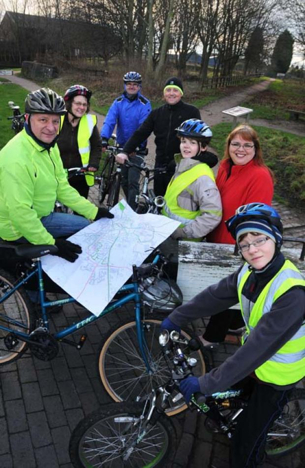 Wheels are in motion for Middlewich cycling campaign