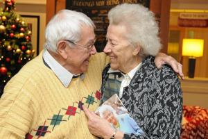 Diamond treat for inseparable couple this Christmas