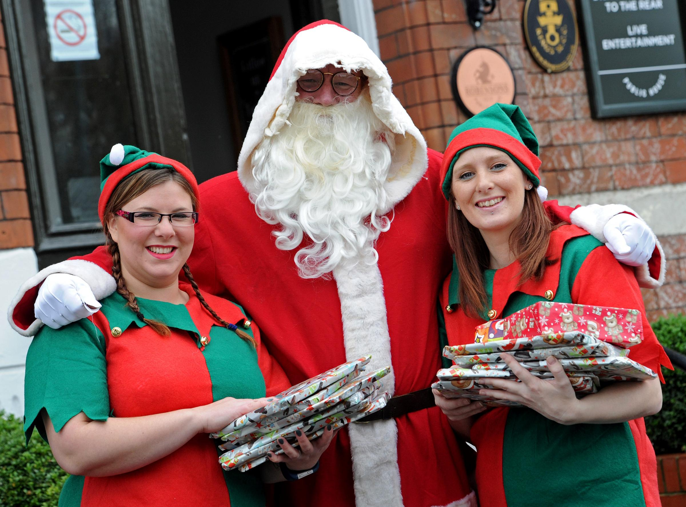 Santa and his elves to bring cheer for children at Christmas Eve ...