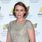 Middlewich Guardian: Keeley Hawes blames flat screen TVs for mumblegate