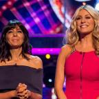Middlewich Guardian: Claudia and Tess during last year's Strictly Come Dancing (BBC)