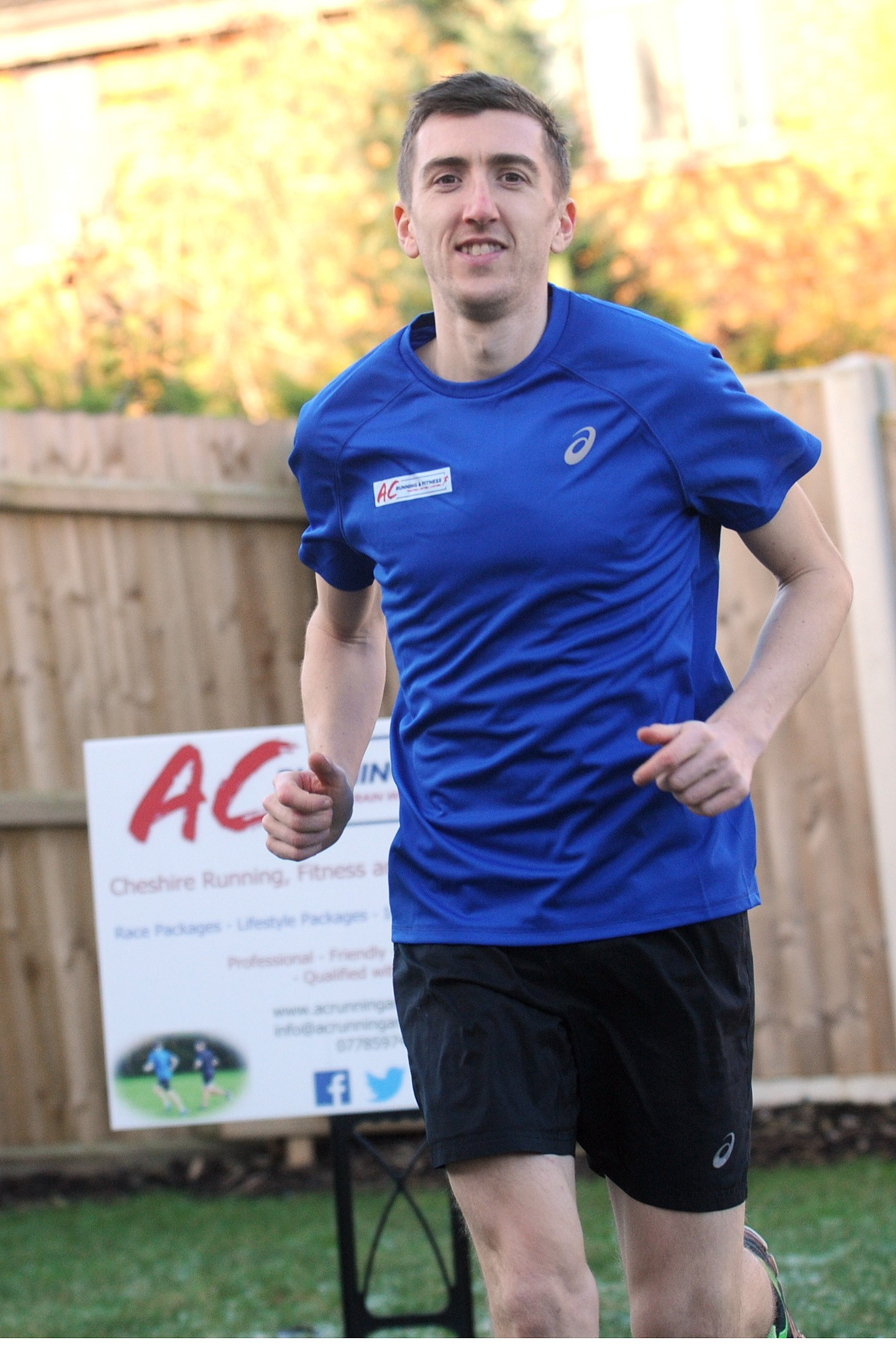 Alex Cann has set up a fitness business, wants to get people active.