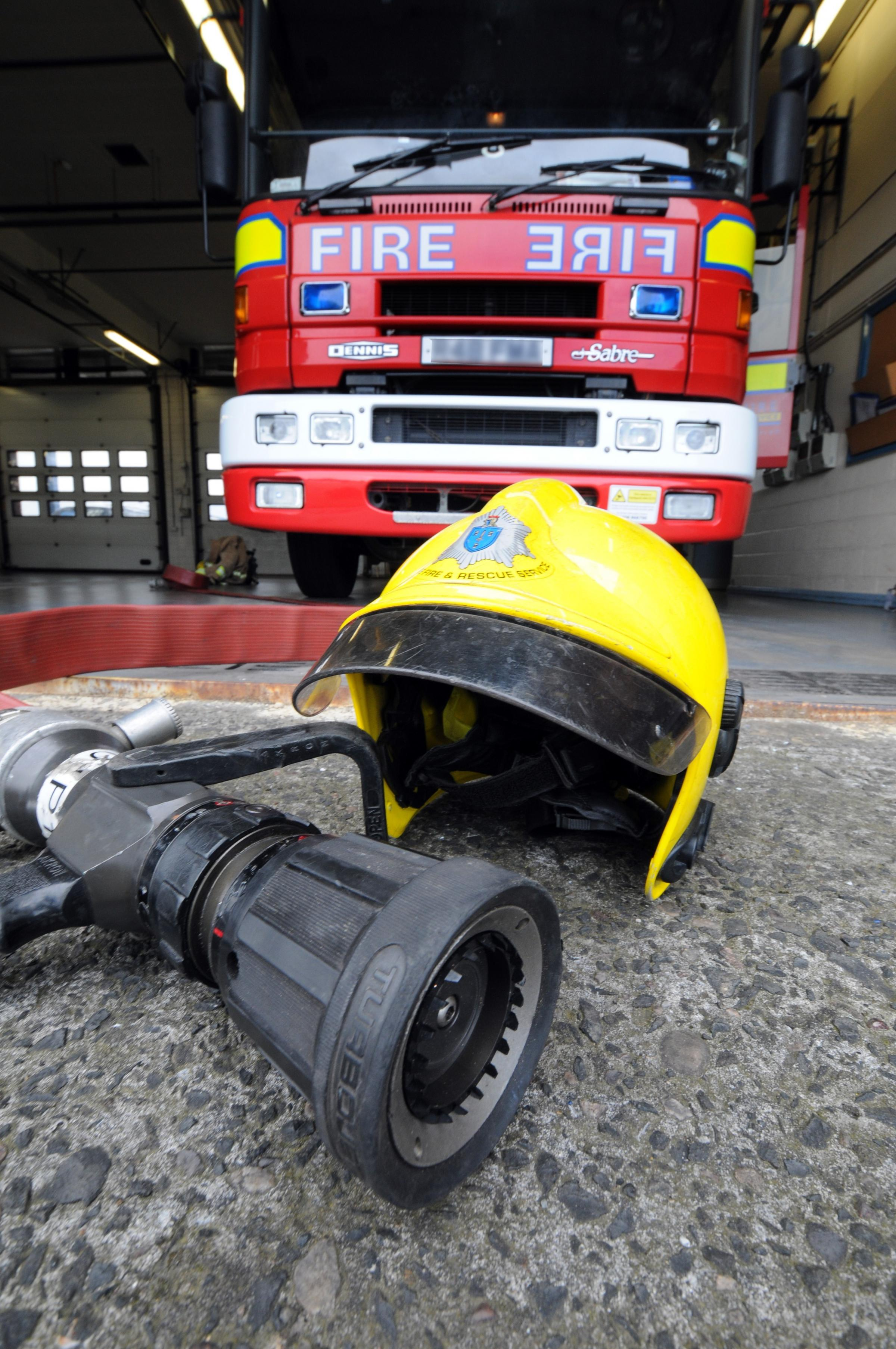 Firefighters were called to a house fire on Booth Lane in Middlewich