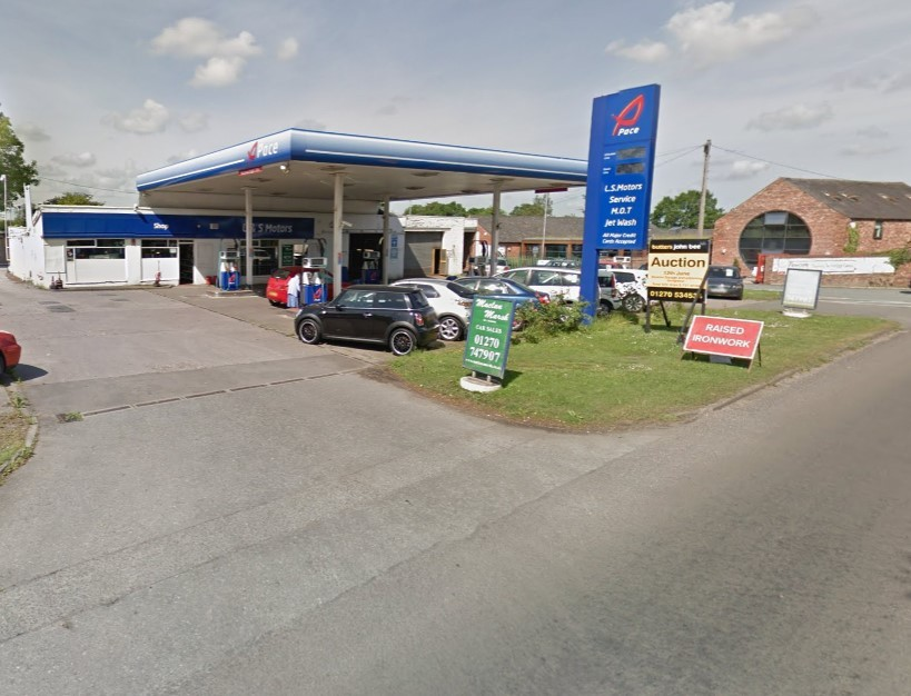 Plans have been approved for a new car dealership at the location of Moston Garage