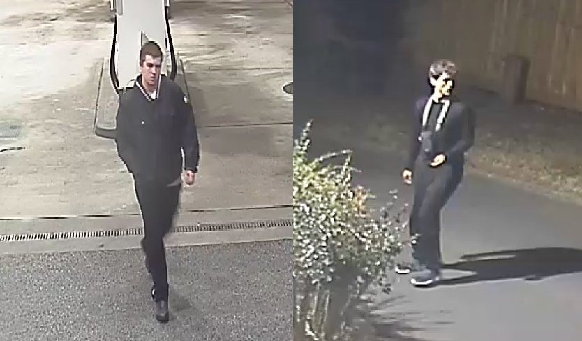 CCTV of the two Middlewich suspects